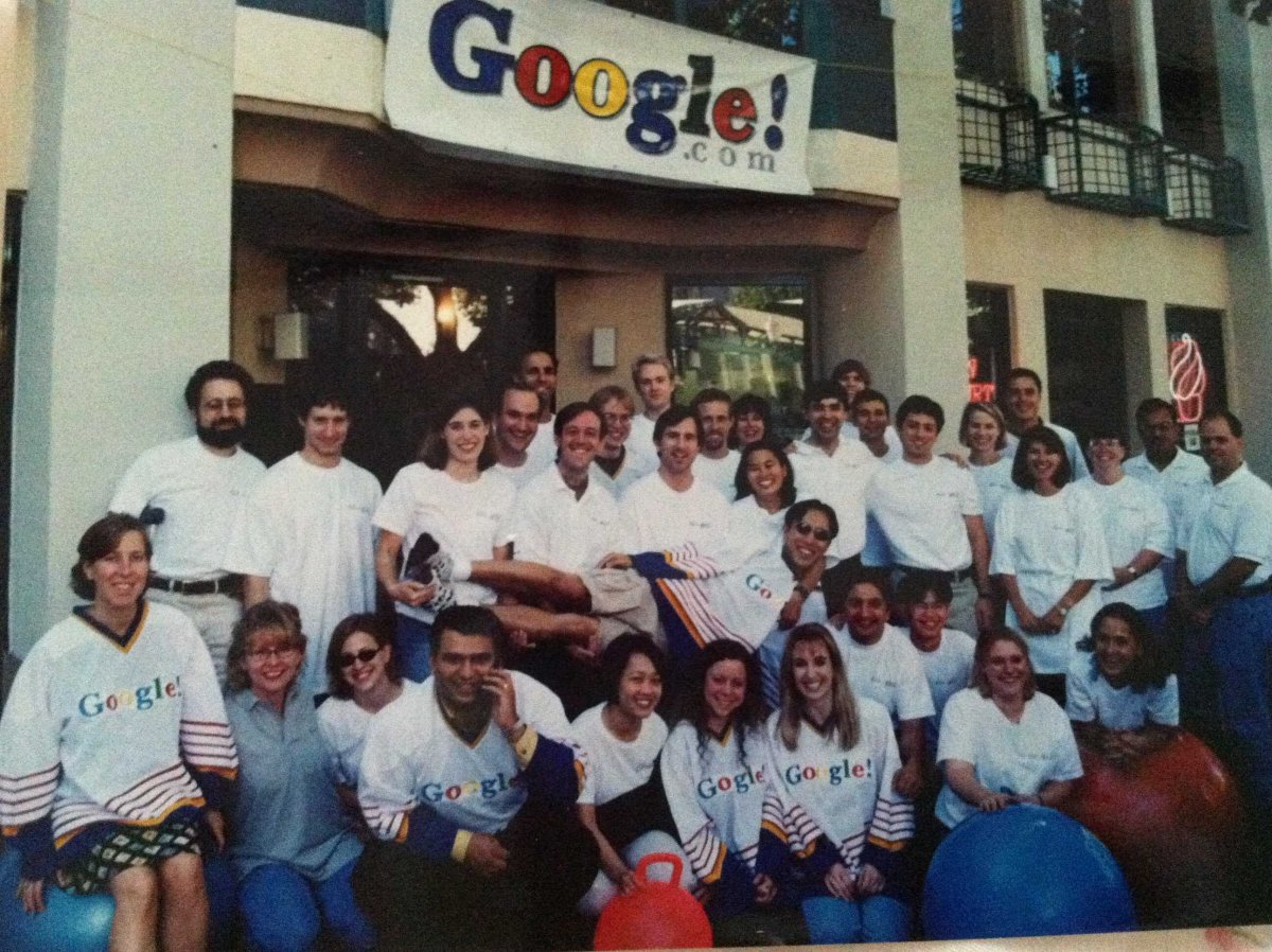 los primeros empleados de google
